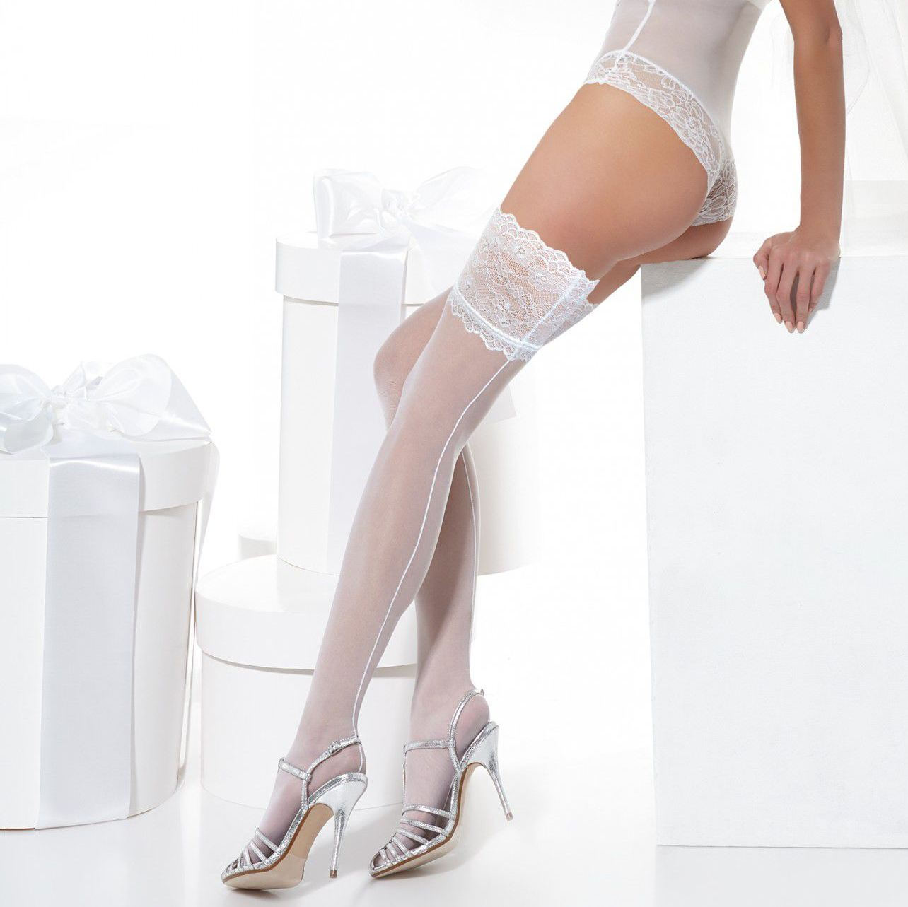 Why Wear Stockings Under Your Wedding Dress-4137